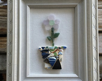 Seaglass Flower Picture