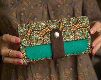 """handmade women's purse """"African"""""""