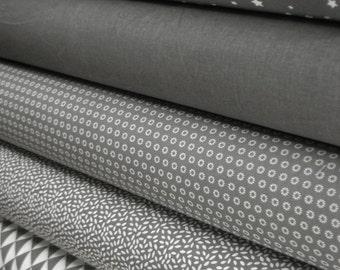 Fabric charcoal 5 substances 50 x 160 cm