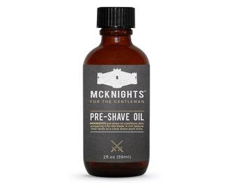 McKnights 2oz Pre-Shave Oil