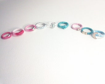 String Wrapped Rings