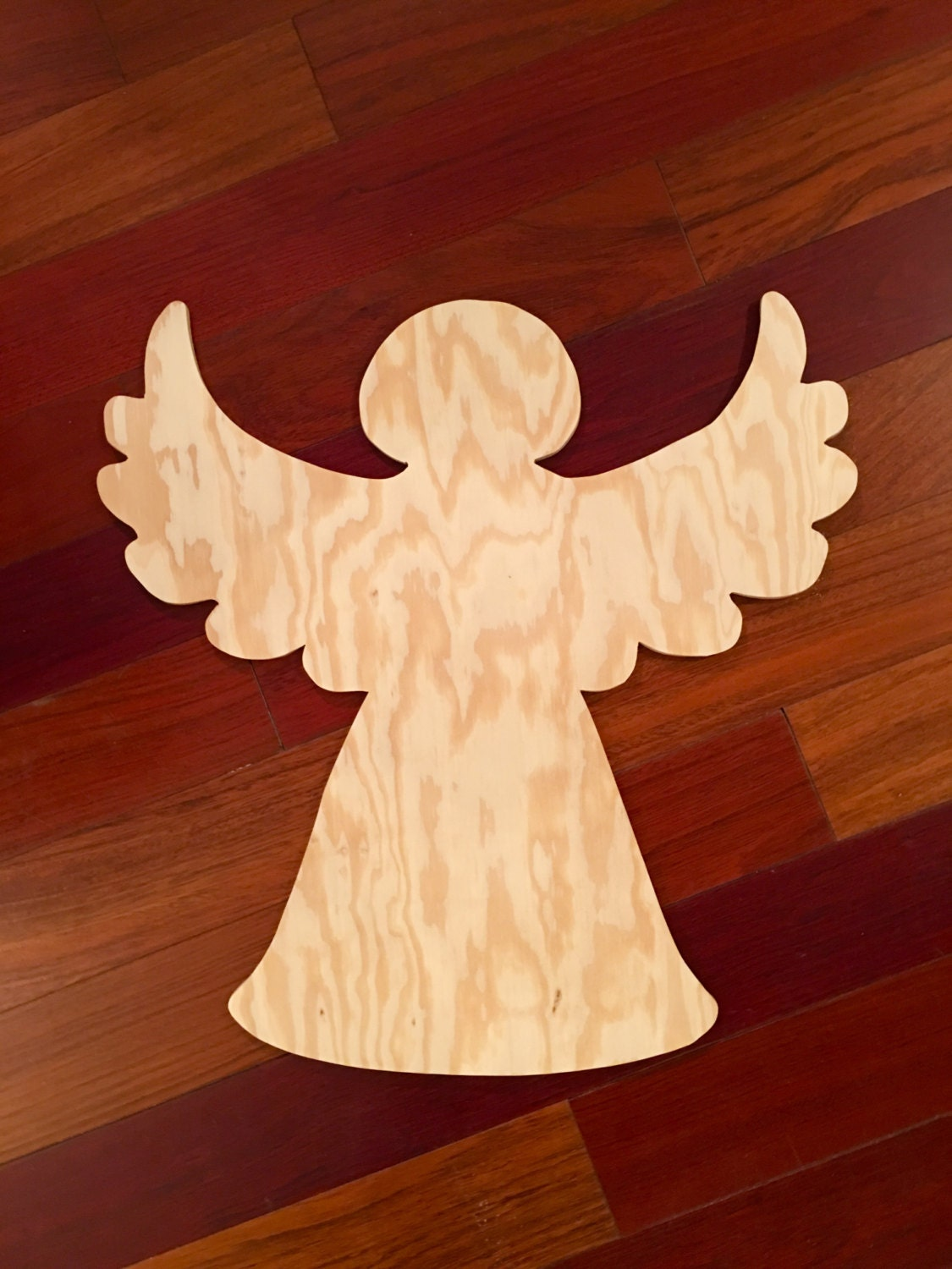 Angel Wood Blank Diy Blank Christmas Door Hanger Door