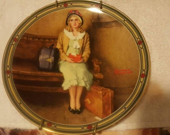 Norman Rockwell collectors plate.