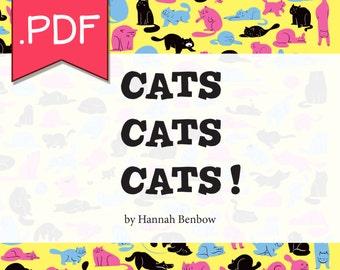 Cats, Cats, Cats!  [DIGITAL DOWNLOAD]