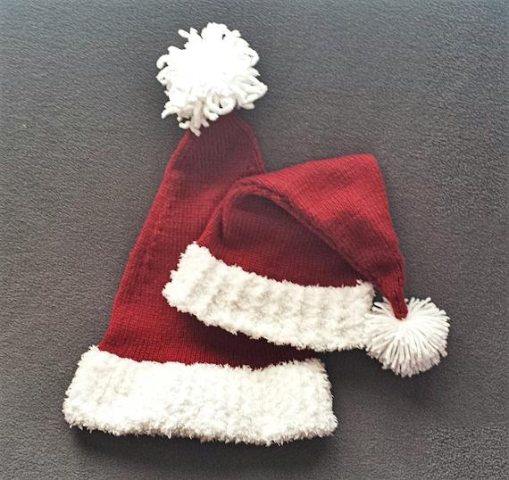 Knitting Pattern Child s Christmas Stocking : LOOM KNITTING PATTERNS Yuletide Stocking Hat / Small Gauge Loom Knitting Patt...