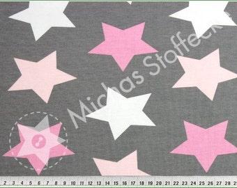 megastar pink, cotton / lycra, jersey fabric