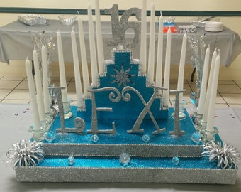 Sweet 16 candelabra