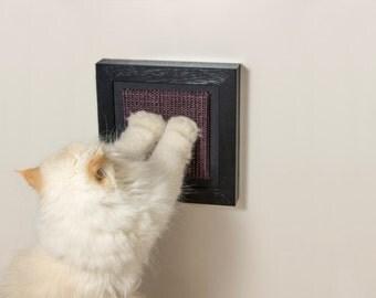 Small-size wall cat scratcher / Compact & beautiful sisal scratcher