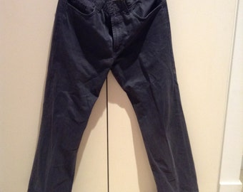 Faded black Vintage 90s GAP Boot Fit twill pants