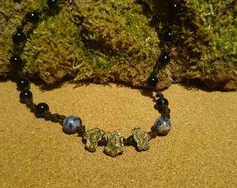 Stoned Earth Beaded Necklace