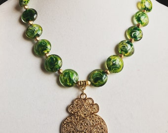 Simply Green bling