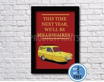 Only fools and horses quote print, Only fools and horses poster