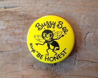 Vintage Pin Back, Vintage Button, Button Pin Back, Vintage Advertising