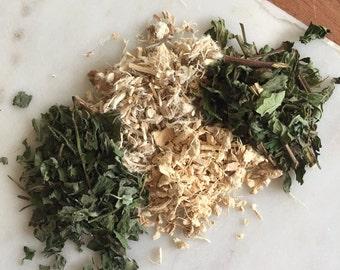 Solar plexus chakra herbal tea blend