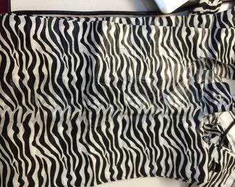 zebra plastic bags