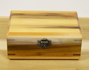 Hand Crafted Wooden Box