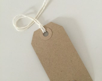 Silver glitter heart vintage gift tags (10 pieces)