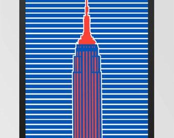 Bright and Modern New York Print