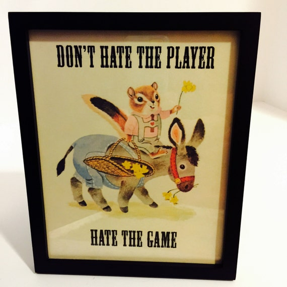 Hate The Game Not The Player - YouTube