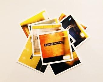 Hue Bahn Square Postcards