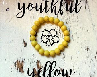 Inner-Beauty Bracelet - Youthful Yellow