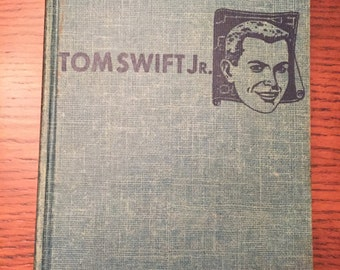 Vintage 1954 Tom Swift and His Rocket Ship Hardcover Book by Victor Appleton II