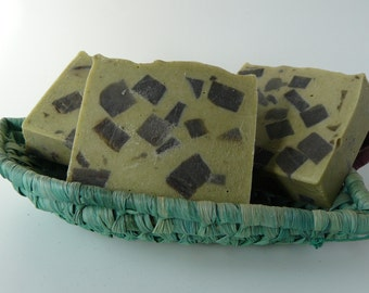 Mint Chocolate Chip Soap Bar