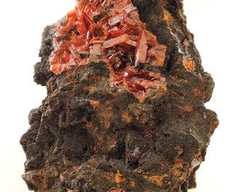 Crocoite from Zeehan, Tasmania