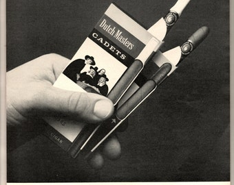 1965 Dutch Masters cigar cadets a small cigar tipped or regular