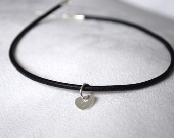 Choker with Sterling Silver Tag