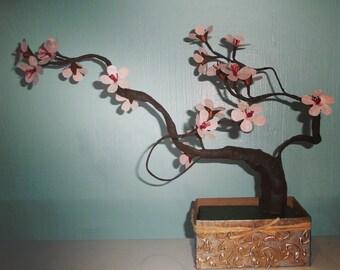 Cherry Blossom Bonsai - Origami - Paper Flowers - Cherry Blossom Festival