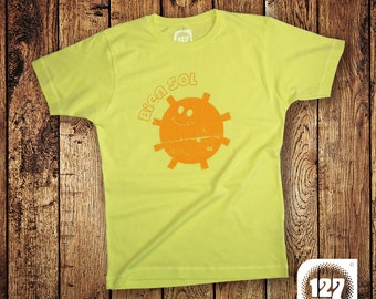 Men's T-shirt 'Bien Sol' – Yellow