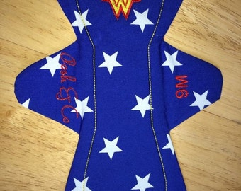 Wonderwoman inspired cloth pad csp