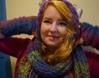 Woolly Winter Cat Hat