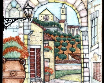 M3/20-ceramic tile Assisi