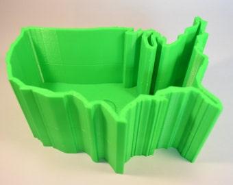 "USA Shaped Planter - 4"" Size"