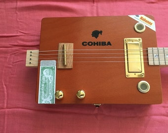 4 String Cohiba Telebox guitar