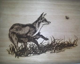 Fox in the Grass Home Decor