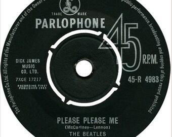 The Beatles-Please Please, Me Parlophone Records