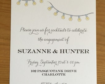 Engagement party invitation *digital file only*
