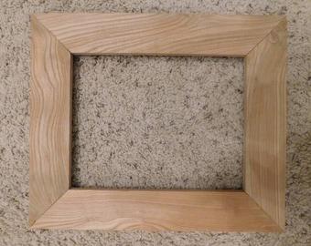 8x10 Unfinished Oak Frame (#5328)
