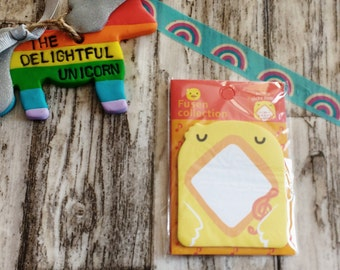 Cute duck memo pad