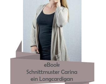 Pattern Cardigan Carina (eBook) Size 34 - 48