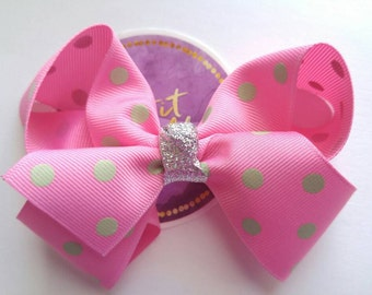 Boutique Hair Bow - Girls Hair Bow - Large Hair Bow - Kids Accessories