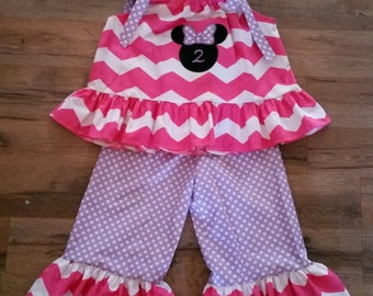 Minnie Mouse Birthday Outfit, Minnie Outfit,