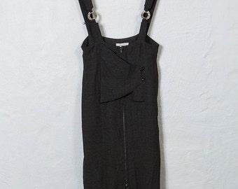 90s Pinafore Dress