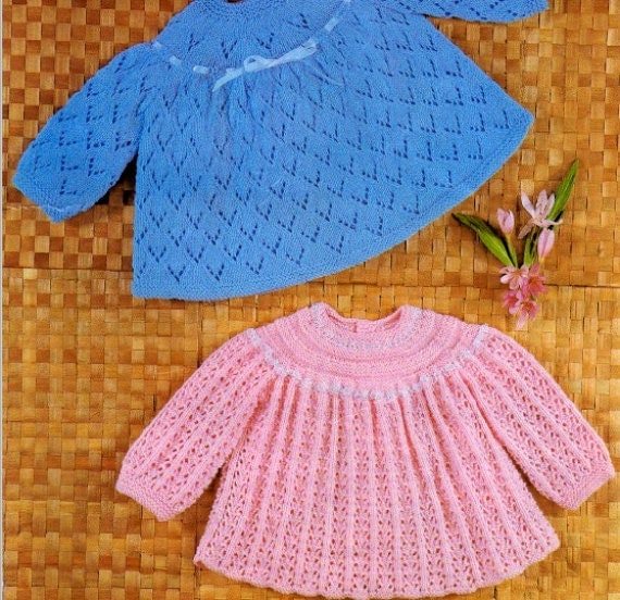 Knitting Pattern Angel Top : PDF Knitting Pattern Baby angel top Instant Download Nr.121