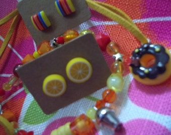 funky jewellery set