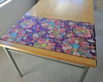 Origami & Flower print Table Runner