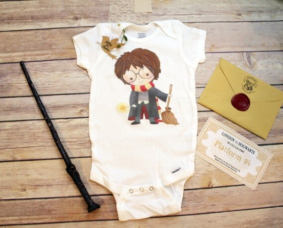 Harry Potter Onesie® Harry Potter Baby Clothes by BittyandBoho